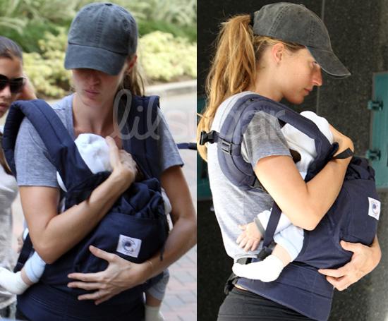 Photos: Gisele Bundchen's Ergo Baby Carrier