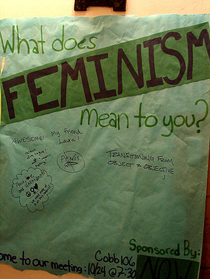 "Does the Word ""Feminist"" Make You Cringe?"