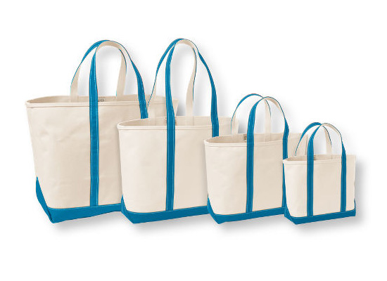 Boat and Tote Bag, from approx $19.60 to $33.80 from L.L. Bean