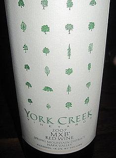 Review of York Creek 2007 MXB