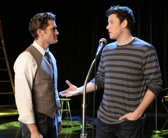 Finn has a heart-to-heart with Mr. Schue.