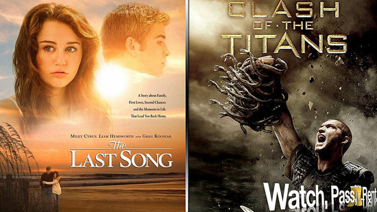 The Last Song Movie Review and Clash of the Titans Movie Review