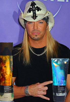 Bret Michaels Partners With Pantene