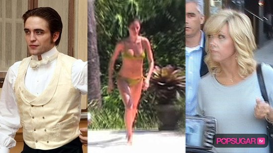 Robert Pattinson Filming Bel Ami, Gisele Bundchen in a Bikini, and New Nike Commercial With Tiger Woods