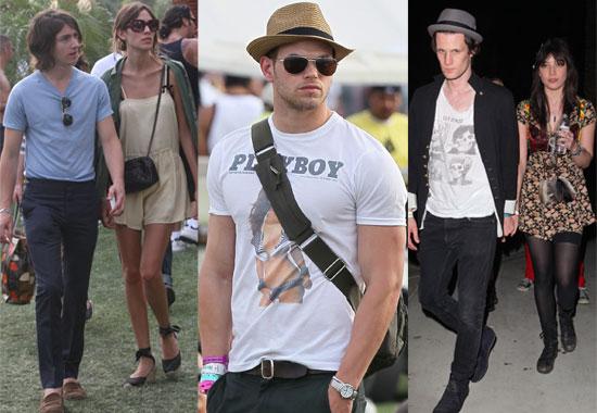 Photos of Celebrities at the Coachella Music Festival 2010 including Matt Smith, Peaches Geldof, Alexa Chung, Jay-Z, Kellan Lutz