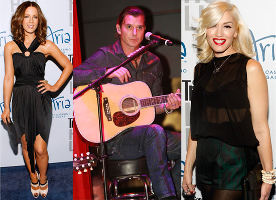 Photos of Kate Beckinsale, Len Wiseman, Gwen Stefani, Gavin Rossdale at Conde Nast Party in Las Vegas
