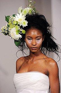 Floral Bridal Bouquet Hair Piece From Douglas Hannant