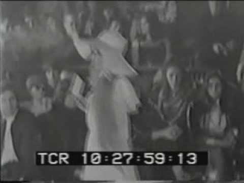 Video of Ossie Clark Fashion Show From Late '60s Starring Patti Boyd