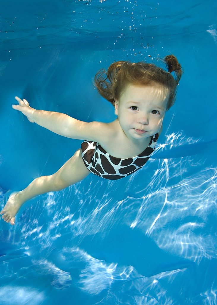 Get Your Child's Feet Wet With a Underwater Photo Opp