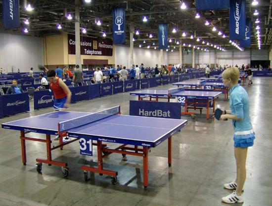 Celebrities Love Ping Pong