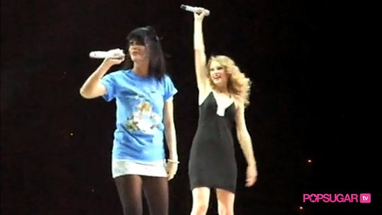 Taylor Swift and Katy Perry Duet