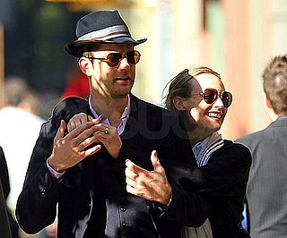 Slide Picture of Joshua Jackson and Diane Kruger in NYC