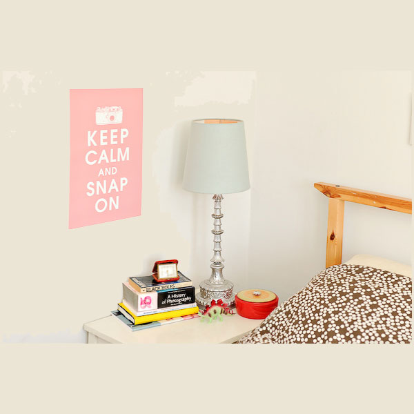 Keep Calm and Snap On Poster