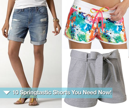 Affordable Spring Shorts