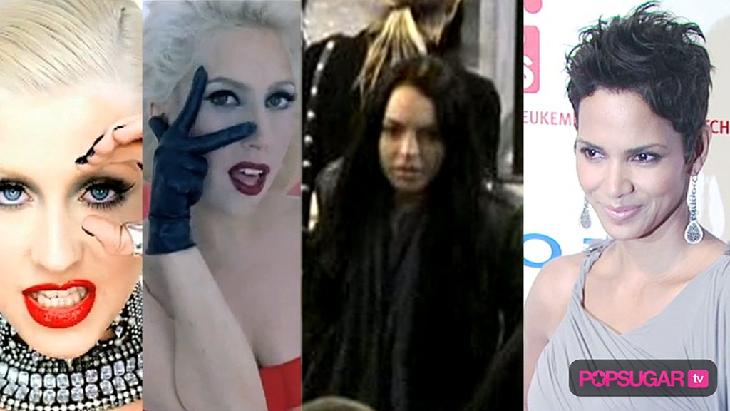 Christina Aguilera New Music Video, Lindsay Lohan Probation, and Halle Berry Breakup