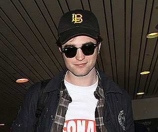 Picture of Robert Pattinson at LAX After Eclipse Reshoots