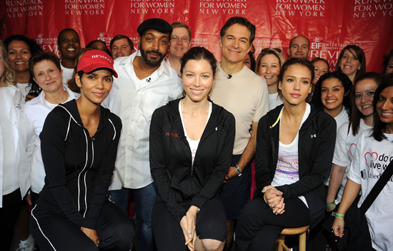Pictures of Halle Berry, Jessica Biel, and Jessica Alba for the 13th Annual Revlon Run/Walk for Women