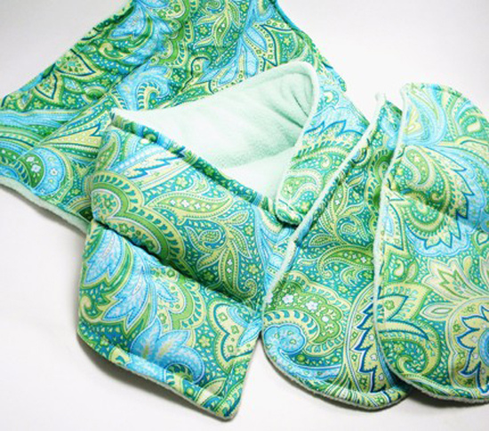 Decorative Hot-Cold Pack and Heating Pad