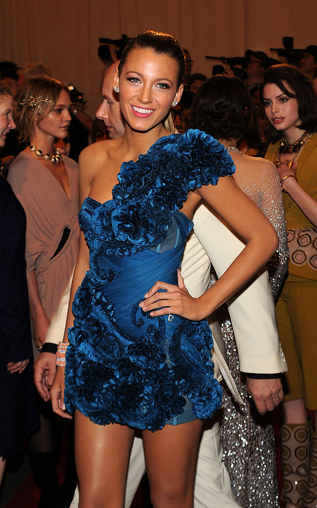 Blake Lively in Marchesa
