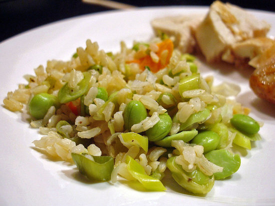 Healthy Recipe For Brown Rice and Edamame 2010-05-05 07:00:29