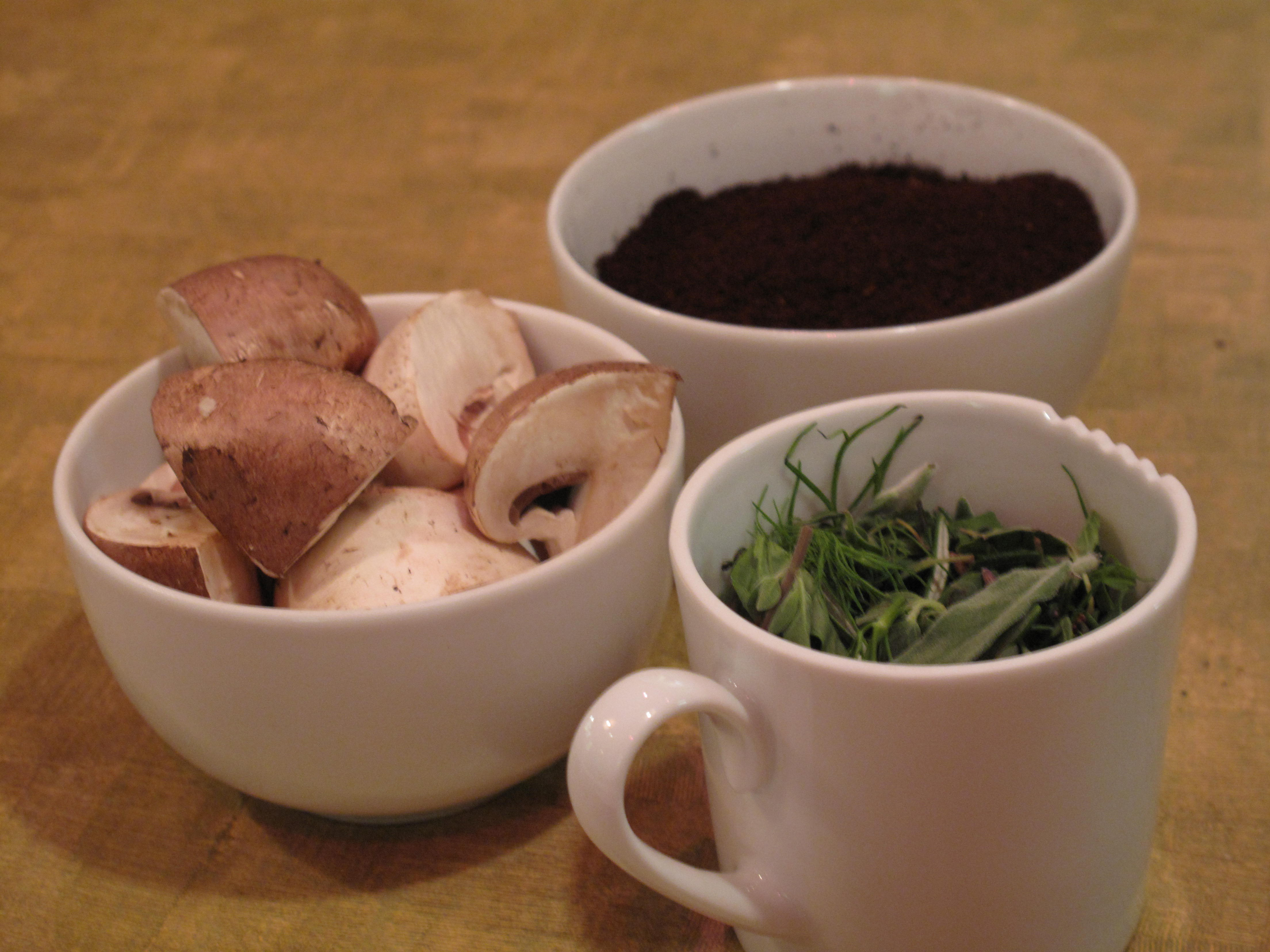 For educational purposes, we were given sensory references such as cremini mushrooms and herbes de Provence to compare with the coffee's flavor profile.