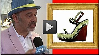 Sugar Shout Out: Up Close and Personal With Christian Louboutin!