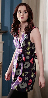 Blair Waldorf in Flower Print Dress on Gossip Girl Season Finale