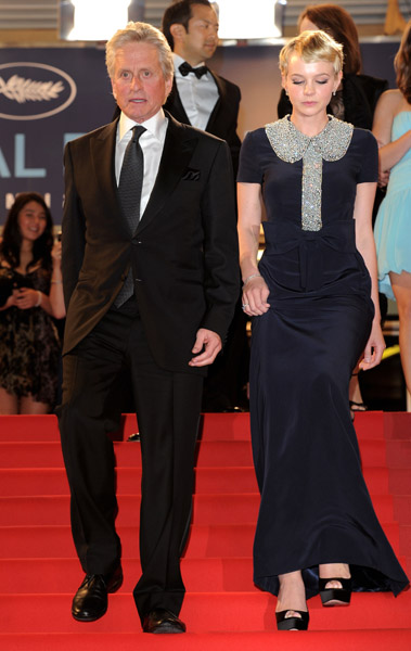 Carey Mulligan was a sweet but grown-up girl in her Azzaro gown.
