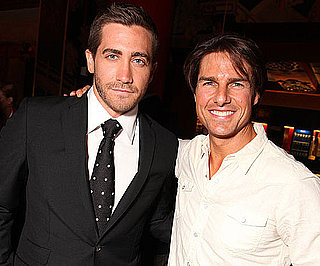 Slide Picture of Tom Cruise and Jake Gyllenhaal Together in LA