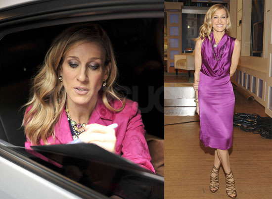 Pictures of Sex and the City 2's Sarah Jessica Parker at The Early Show