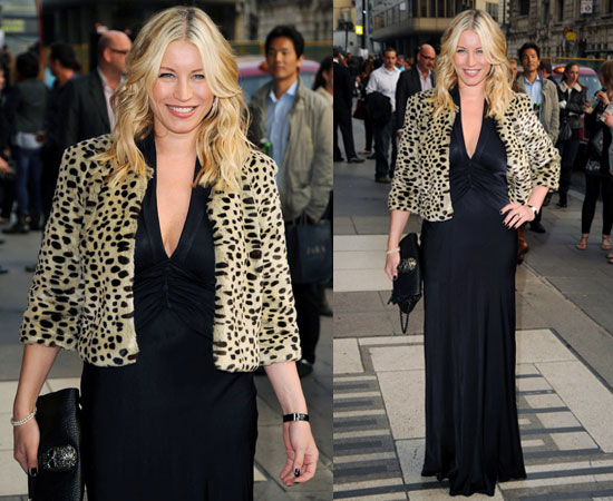 Pictures of Denise Van Outen at Wicked Press Night With Post-Pregnancy Body