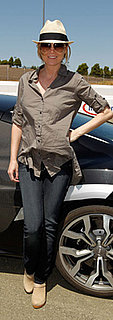 Ellen Pompeo Wears Clogs and Fedora at Learn to Ride Event in Sonoma, CA
