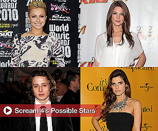 Lake Bell, Hayden Panettiere, Rory Culkin, and Ashley Greene in Talks to Star in Scream 4