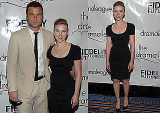 Pictures of Scarlett Johansson And Liev Schreiber at The Drama Desk Awards in NYC 2010-05-22 09:00:00