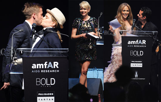Pictures of Ryan Gosling, Michelle Williams, Jennifer Lopez And More at The amfAR Party in Cannes