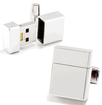 2GB USB Flash Drive Cufflinks