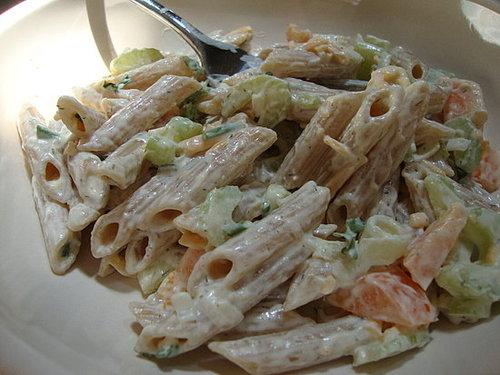 Easy, Creamy Pasta Salad