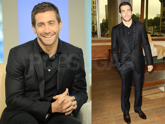 Pictures of Jake Gyllenhaal at The Early Show Talking About Prince of Persia