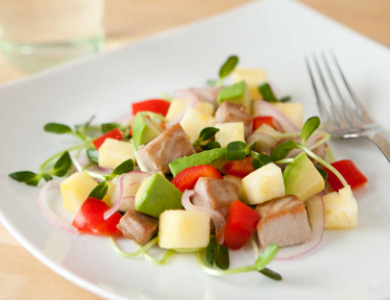 Recipe For Fresh Tuna Salad With Pineapple