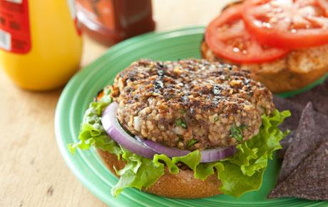 Recipe to Add Bulgur to Your Hamburger