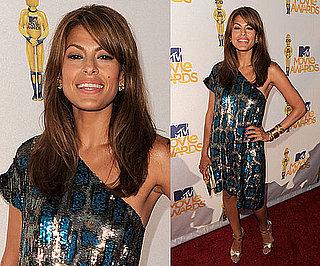 Eva Mendes at 2010 MTV Movie Awards 2010-06-06 18:41:02