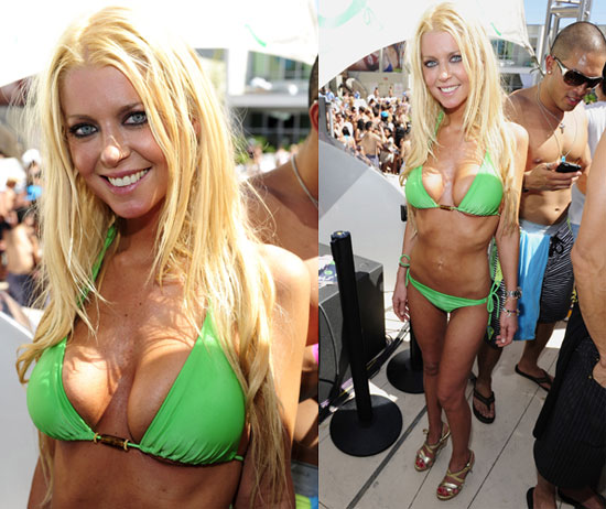 Pictures of Tara Reid in a Bikini at the Love Festival in Las Vegas