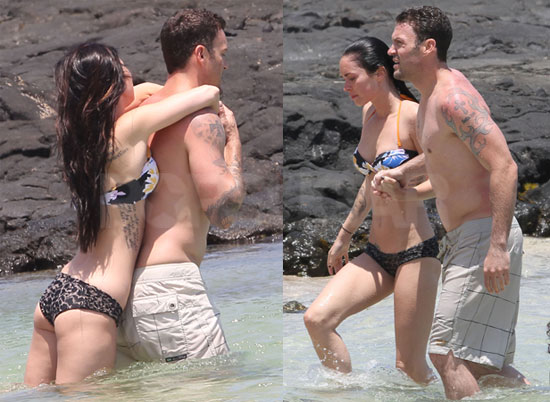 Megan Fox Bikini Photos With Shirtless Brian Austin Green