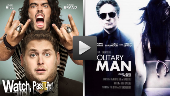 Video Review of Get Him to the Greek and Solitary Man