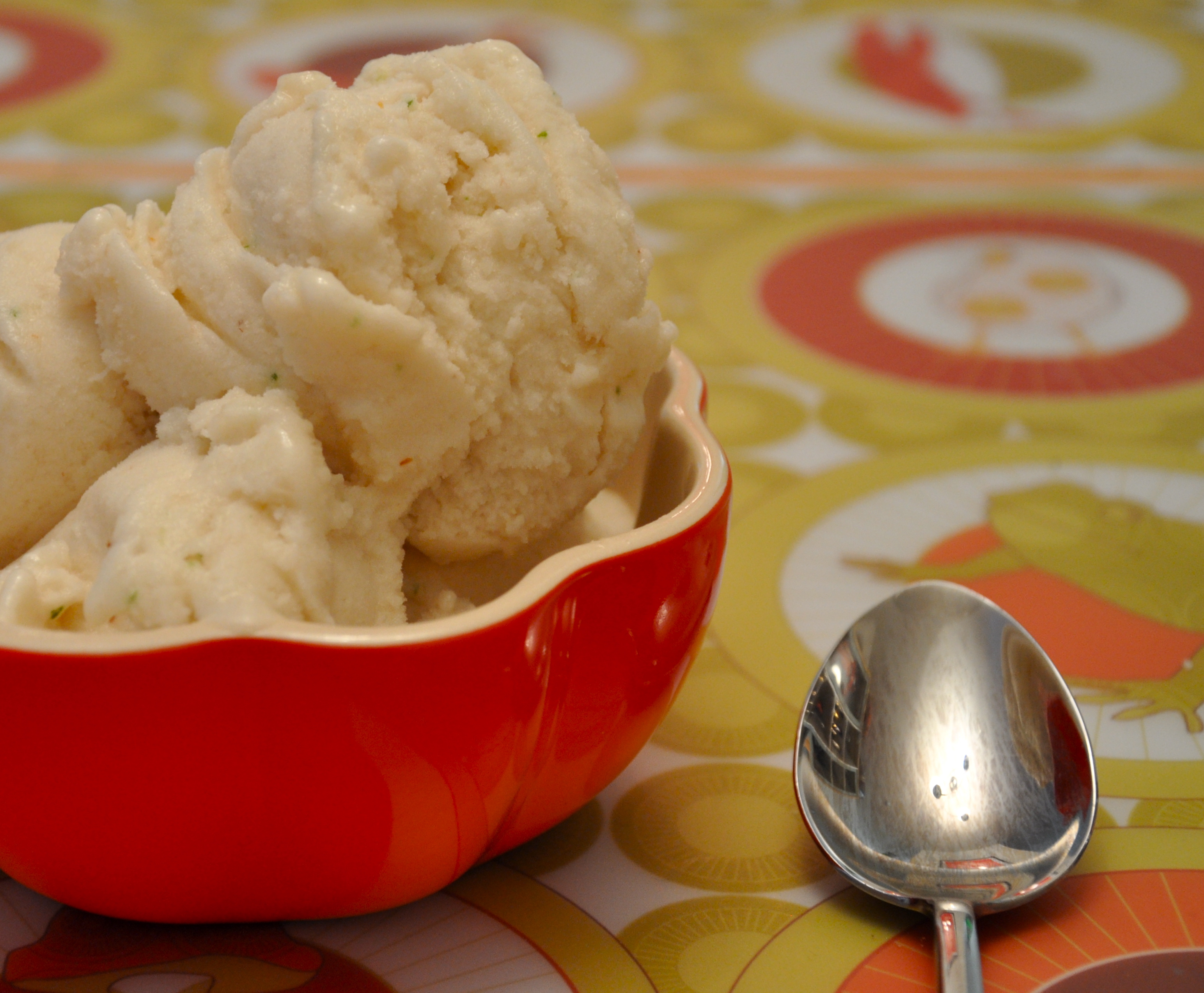 cherimoya lime sorbet yumsugar recipes sorbet summer cherimoya lime ...