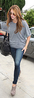 Ashley Greene Shows Off Blonder Hair in Los Angeles