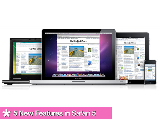 New Features in Safari 5