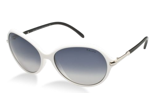 """""""And Ralph Lauren is already thinking about Labor Day with these classic frames in pure white."""""""