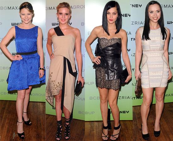 Pictures from Whitney Museum Art Party Including Emilie De Ravin, Leigh Lezark, Maggie Grace, Rachel Zoe, Christina Ricci 2010-06-10 18:00:53