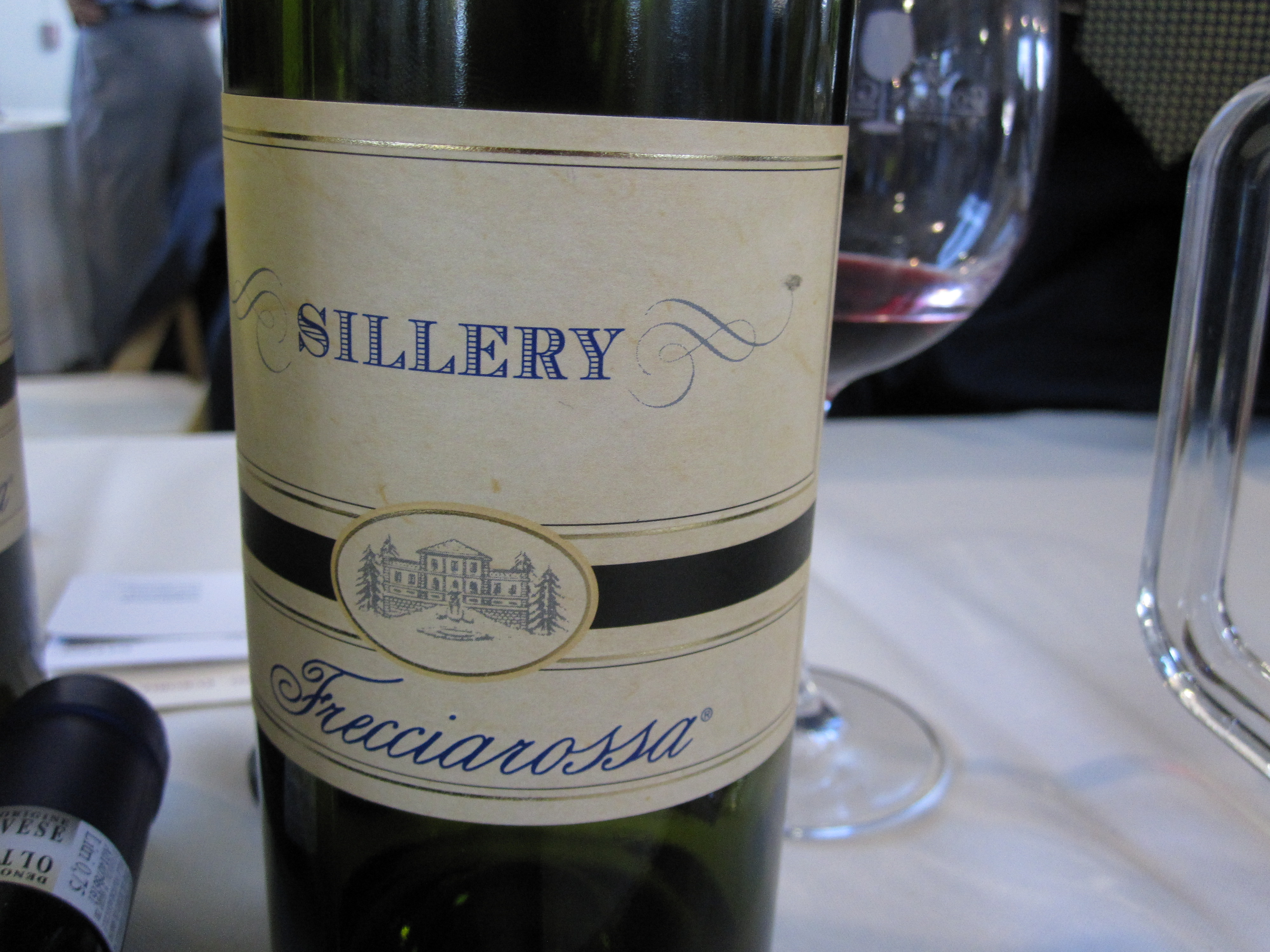 This lovely white was smooth and refreshing . . .